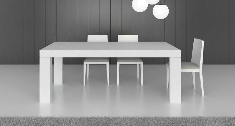 Emilia White Oak Veneer Dining Table