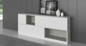 Emilia White Oak Veneer Sideboard