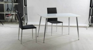 Tirano White Gloss Dining Table