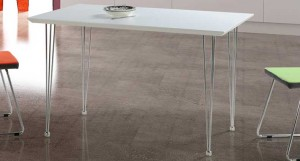 Trento White Gloss Dining Table