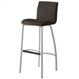 Yeppon Modern Leather Bar Stool
