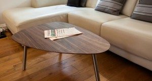 Assi Walnut Coffee Table