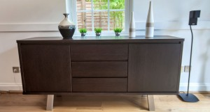 Assi Wenge Dark Wood Sideboard