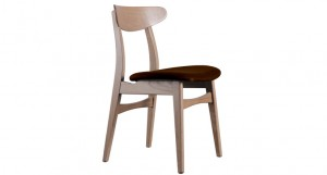 Naturale Retro Solid Washed Oak Dining Chair