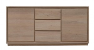 Naturale Solid Washed Oak Sideboard