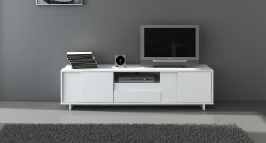 Nuvola White Oak TV Unit
