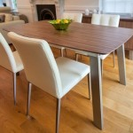 Assi Walnut and Moda Extending Dining Table