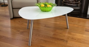 Assi White Gloss Coffee Table £89.00