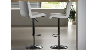 Candess Split Leather Bar Stool £386.00