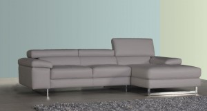 Davini Semi Aniline Leather Corner Sofa