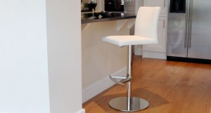 Elise Chrome Gas Lift Bar Stool £119.00
