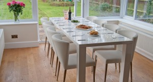 Fern and Curva Extending Dining Set