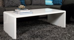 Luca White Gloss Coffee Table £159.00