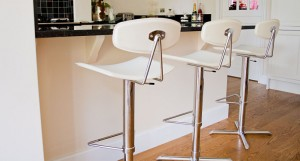Quad Regenerated Leather Bar Stool £94.00