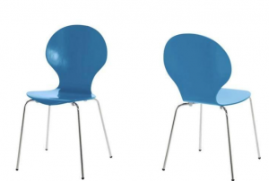 Sky Blue Fern Dining Chair £38.00