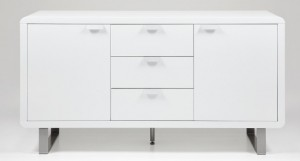 Umbria White High Gloss Sideboard £539.00