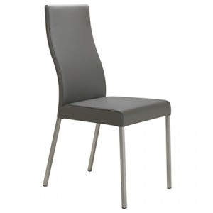 Iva Real Leather Dining Chair