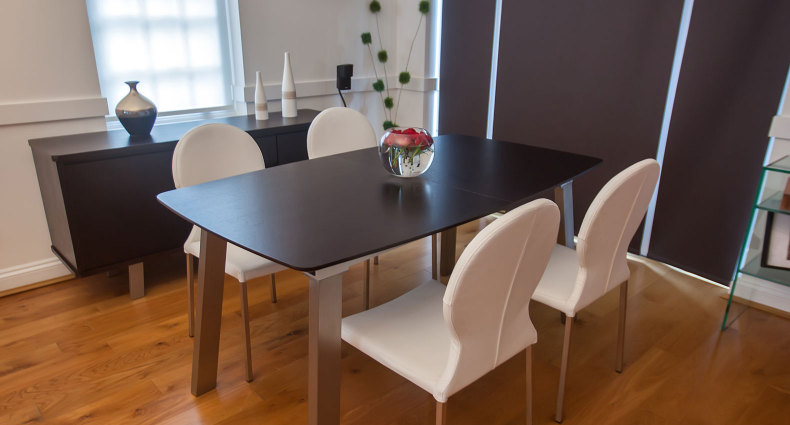 Assi Wenge and Lilly Extending Dining Set £755.00