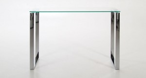 Solero Glass Console Table