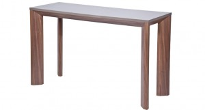 Taranto Walnut Console Table