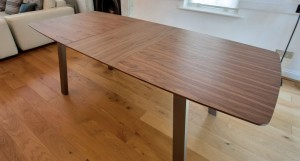 Assi Walnut Extending Dining Table £419.00