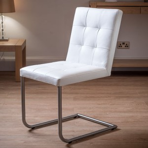 Danni Real Leather Dining Chair £149.00