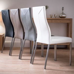 Iva Real Leather Dining Chair £129.00