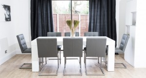 Emilia White Oak and Danni Dining Set from £1249.00
