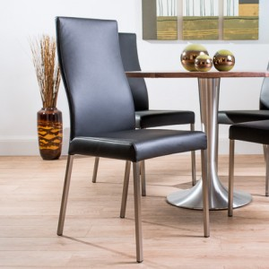 Florence Large Round Solid Walnut and Iva Dining Set £1025.00