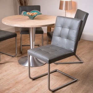 Naturale Large Round Washed oak and Danni Dining Set £975.00