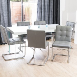 Calanna Grey Oak and Danni Dining Set £1249.00