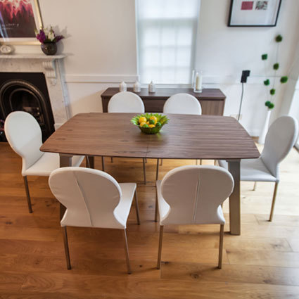 Assi Walnut and Lilly Extending Dining Set £775.00