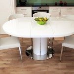 Why to Choose a White Gloss Extending Dining Table this Christmas