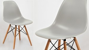 Stylish iconic Grey Eames  chair