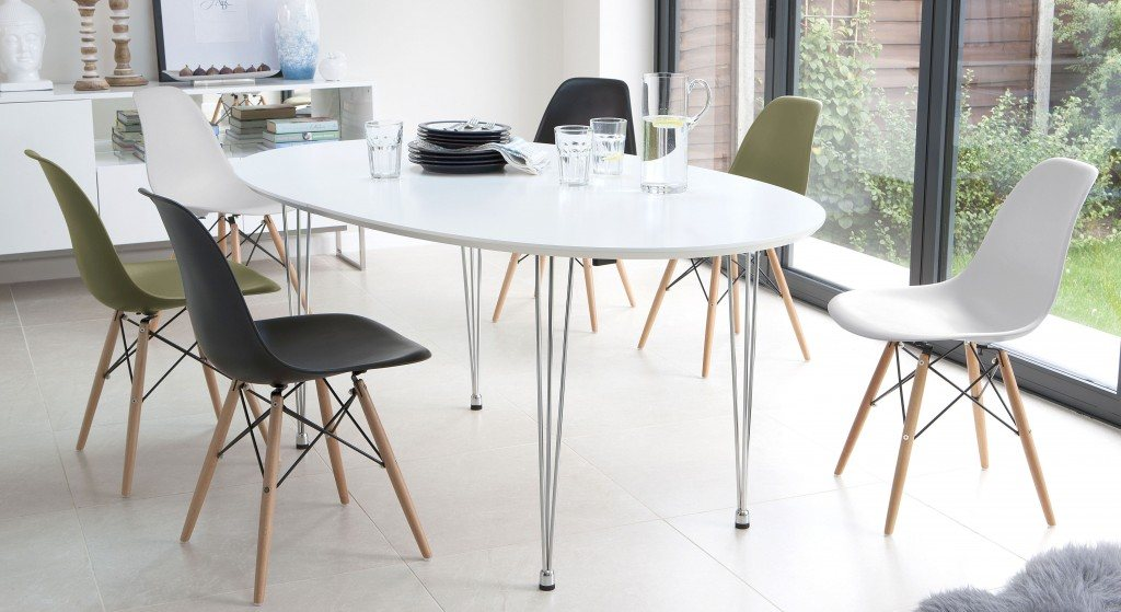 Modern Dining Set for up to 10 people