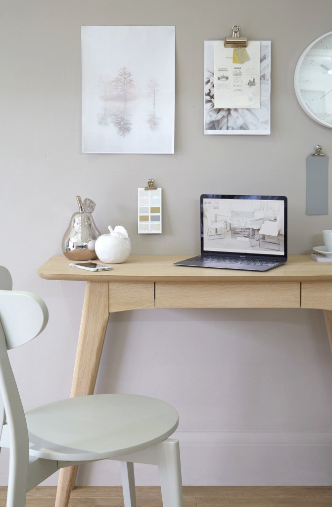 Scandi Natural Oak Desk Look 2
