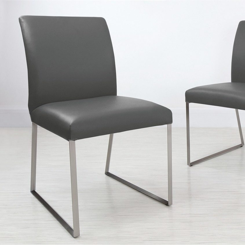 Monti Real Leather Dining Chair, £169