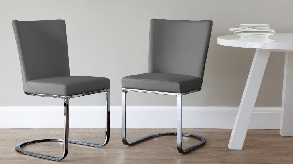 Form Dining Chair Graphite Grey