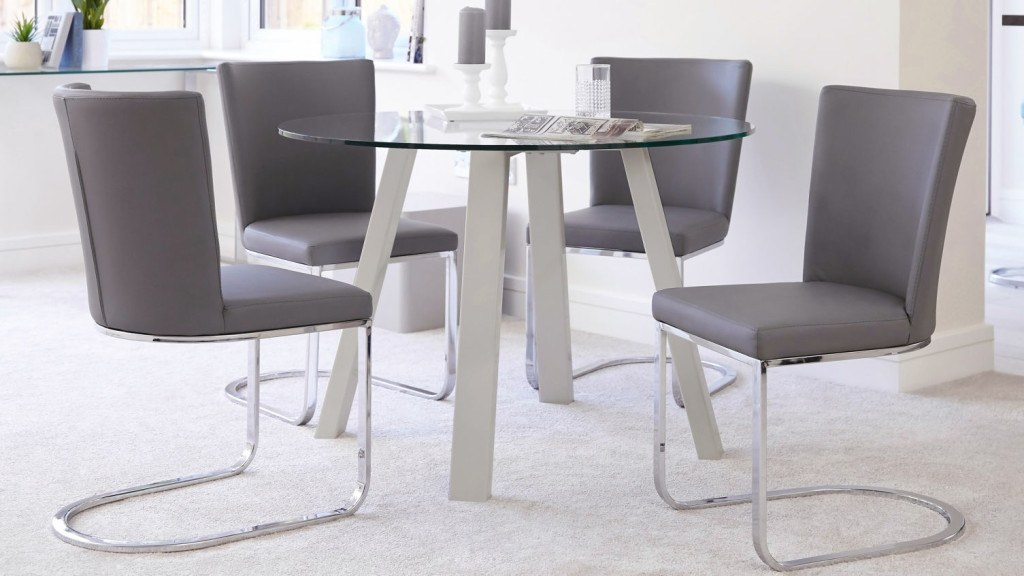 arc-round-4-seater-glass-and-grey-gloss-dining-table-1