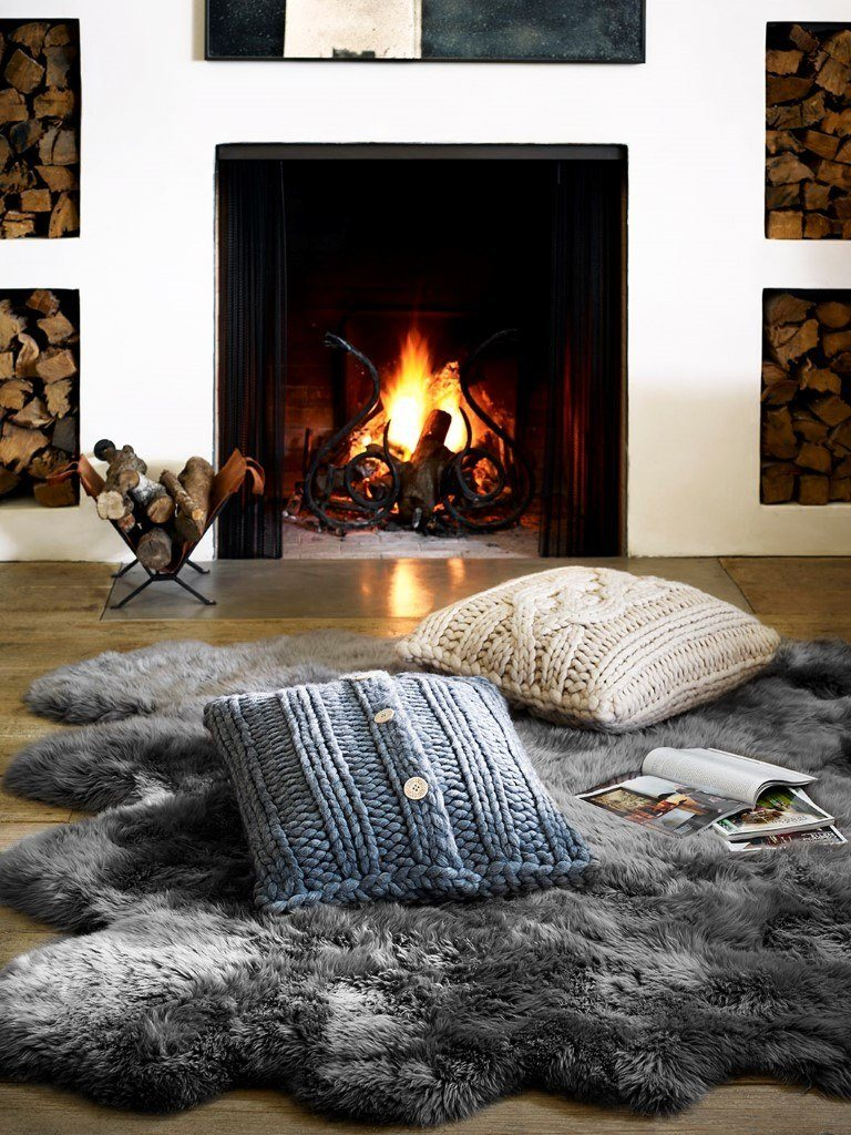 UGG-F15-Oversized-Knit-Pillow-GREY-NAT-Sheepskin-Area-Rug-Octo-GREY