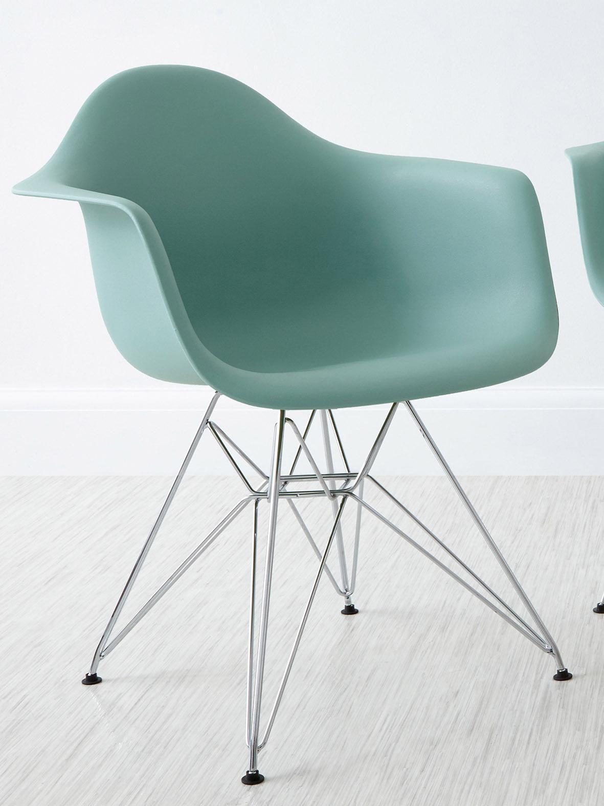Eames Wire Dining Armchair aqua blue eames chair