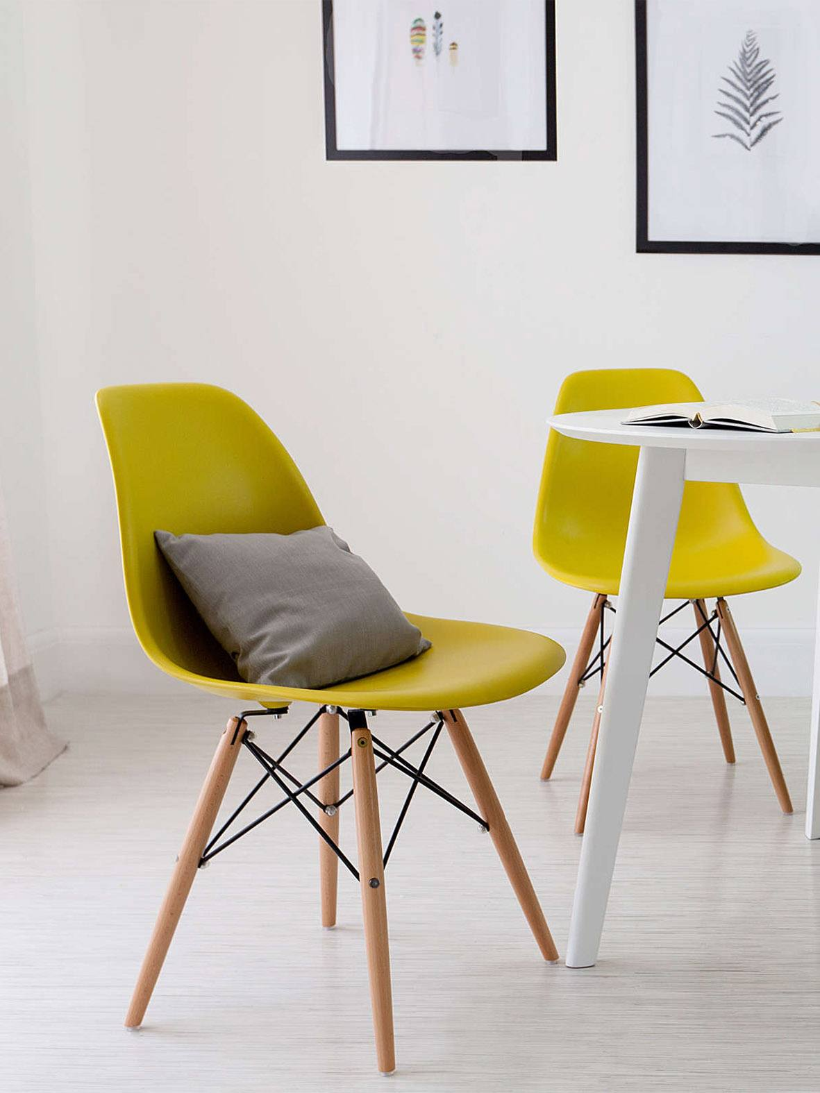 Discount Eames Style Dining Chairs from Danetti.