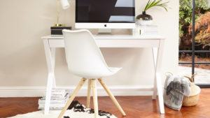 Trestle Desk and Ida Chair