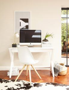 What White Trestle Desk