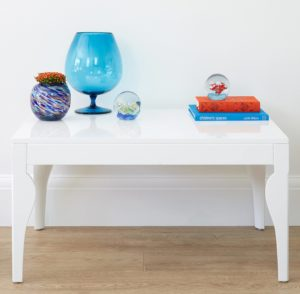 White Gloss Eva Coffee Table Danetti