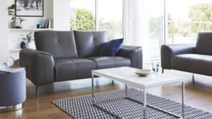 Dillon 2 seater leather sofa