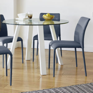 Riva and Arc Dining Set for airbnb