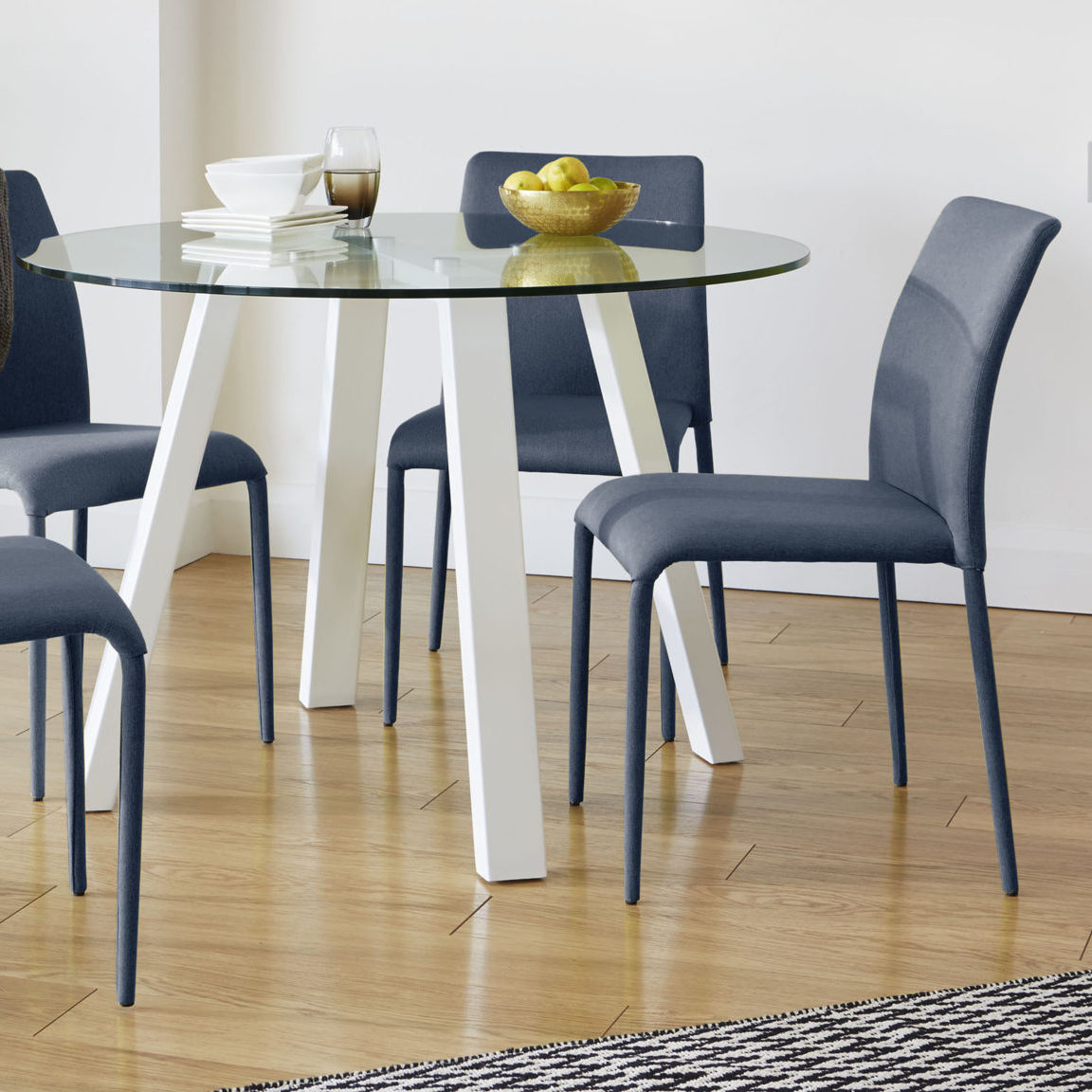 Riva Stackable Fabric Dining Chair, £69