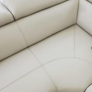 Siena corner sofa stitch detailing