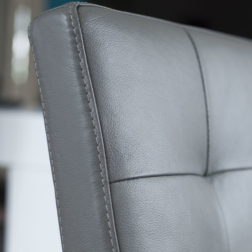 Danni Real Leather Dining Chair, £169